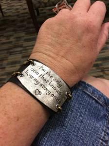 Bracelet with jean skirt