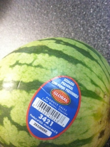My own Personal Watermelon