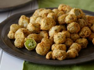 This right here....is Okra....Fried Okra!