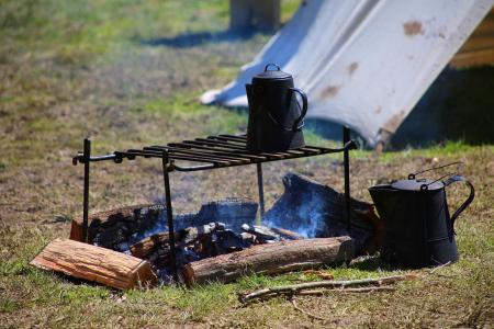 Civil War-Camp Fire 1