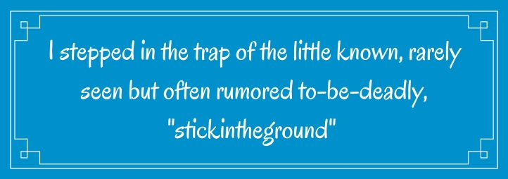 Stink in the ground quote
